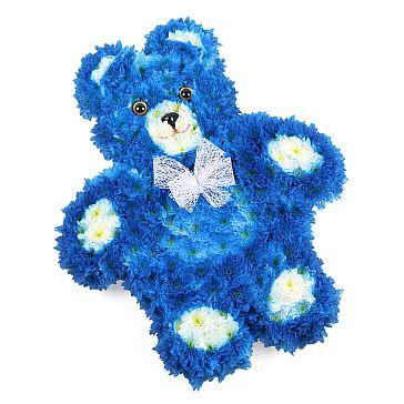 BLUE TEDDY BEAR TRIBUTE
