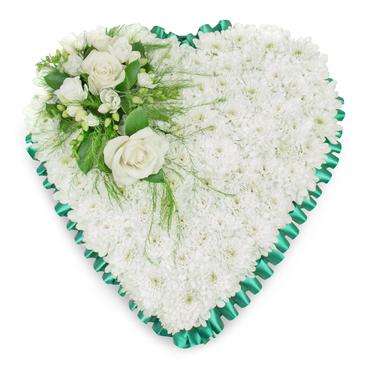 Funeral Heart Flowers
