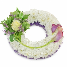 Flower Wreath for Funerals