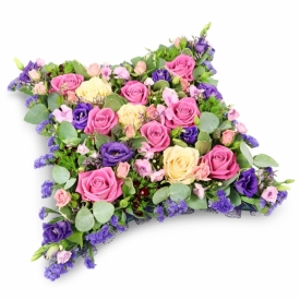 Cushion Flowers for Funerals
